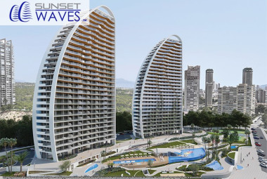 Residencial Sunset Waves - Nyproduktion i Benidorm